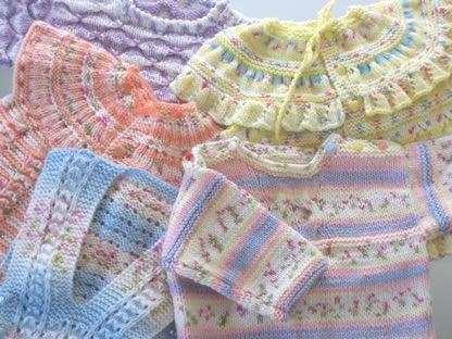 baby yarn vest