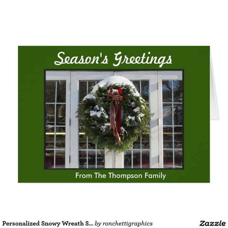 61 best Personalized Seasons Greetings Holiday Cards images on – Holiday or Seasons Greetings Invitation Cards