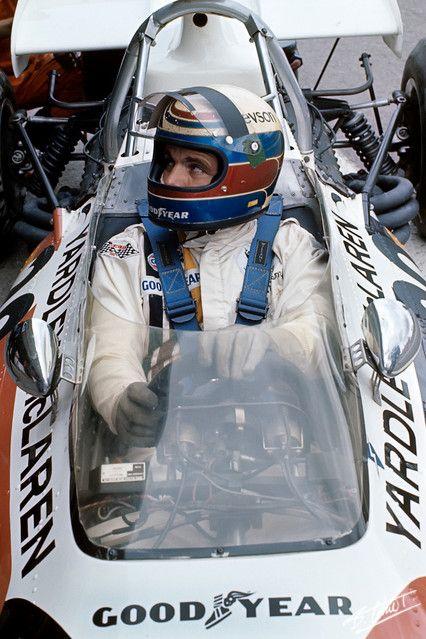 Revson 1972 Spain McLaren M19A
