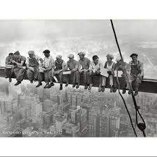 Iconic - Lunch atop a Skyscraper by Charles Ebbets, 1932