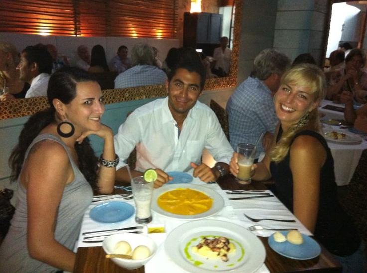 With Lauren (USA) and Oksana (Rusia)