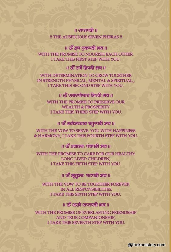 The 7 Pheras Saptapadi Hindu Wedding Cards Weddings Rituals