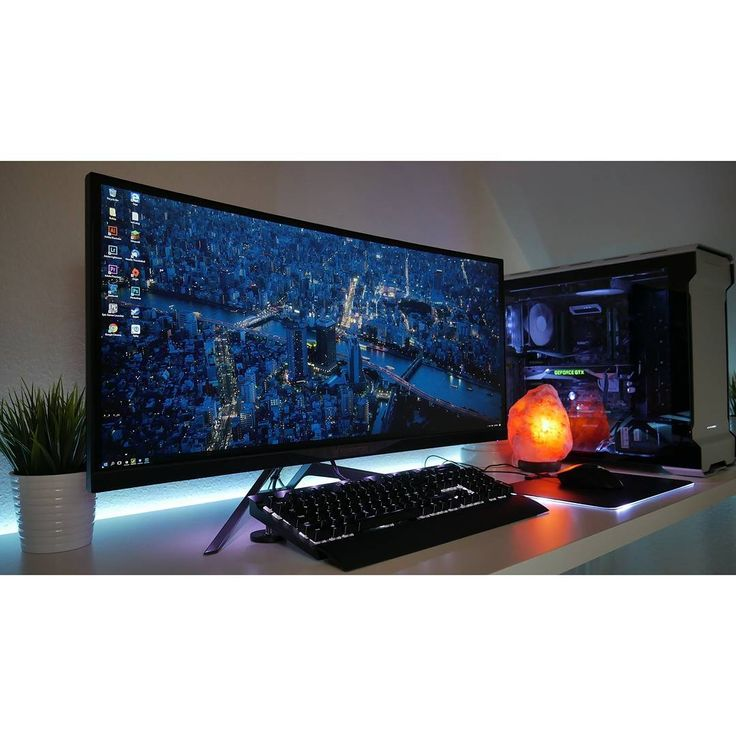 A Clean Ultrawide Setup By Redditor Retromads Check