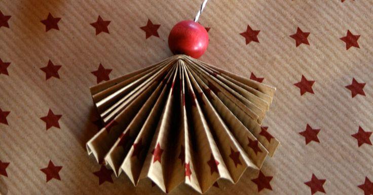 Petits anges de Noël à faire avec les enfants DIY © Nouschine and Sons