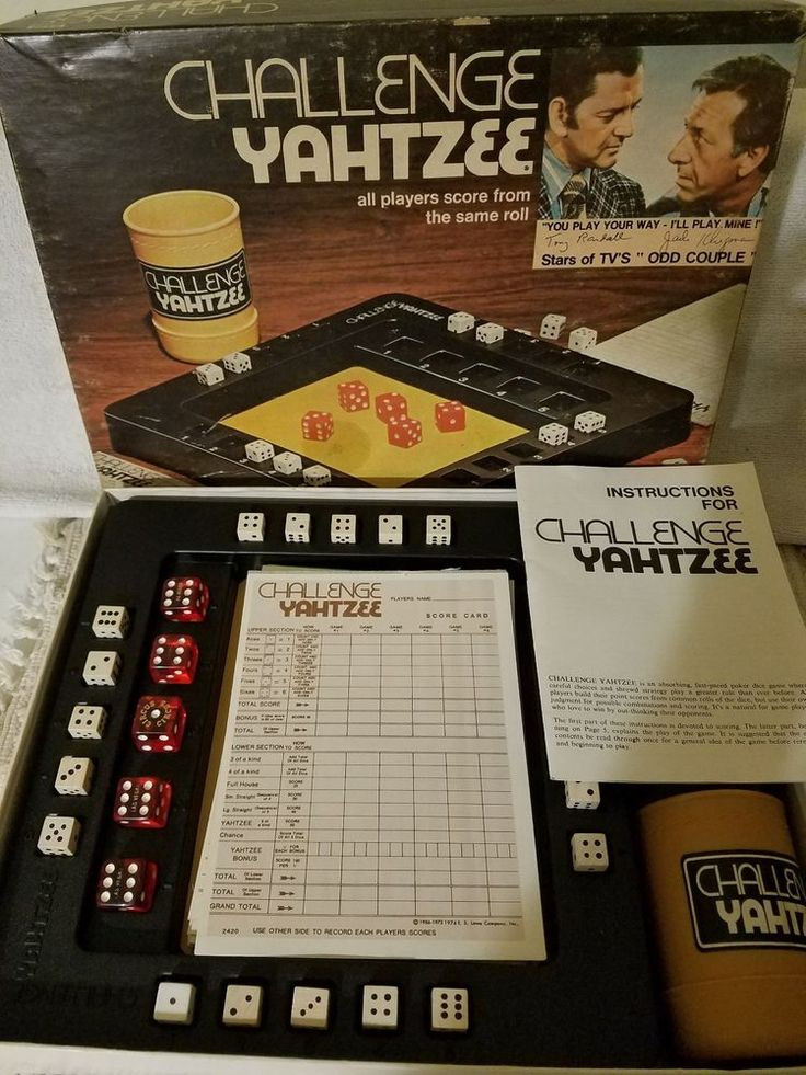 how to play yahtzee with dice
