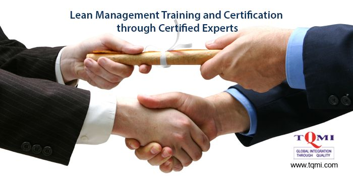 #LeanManagementTraining and Certification  through #CertifiedExperts