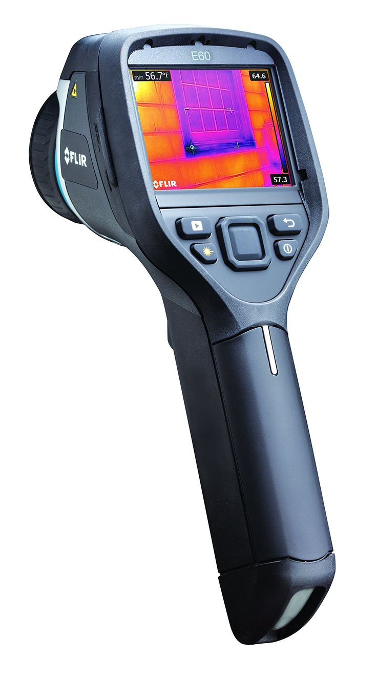 FLIR E60bx Compact Thermal Imaging Camera with 320 x 240 IR Resolution and MSX