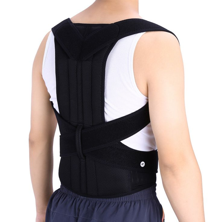 Unisex Adjustable Back Posture Corrector for Men Women
