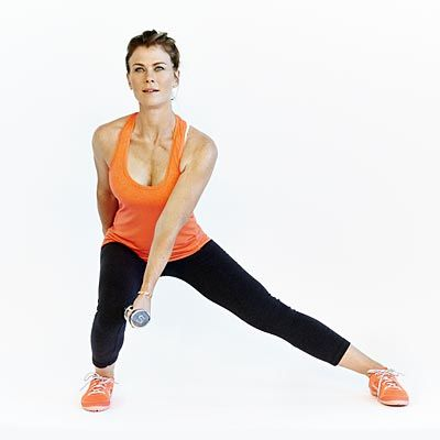 Host of NBC's The Biggest Loser, Alison Sweeney, shares her go-to workout series. From bicycle abs to plank jacks, these challenging moves won't leave any muscle unworked. Kick your fitness routine into high gear and sculpt your way slim. | Health.com