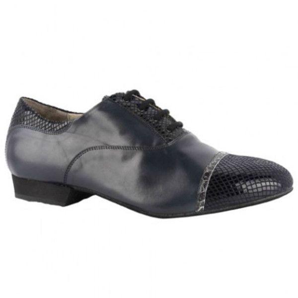 Midnight Blue Bandolera Men's Tango Shoe, $199 #chicagodances