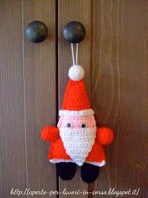 Il blog di Laura: Babbo Natale all'uncinetto