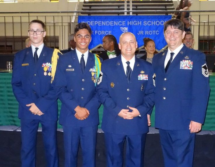 AF JROTC Program at Independence High School - This past weekend the writer attended the AFJROTC annual dinner dance at Independence High School.  The guests of honor were Squadron Commander LTC Buzz Lochocki from Independence, LTC Nelson English, Chief, Tim Ledford Mint Hill Police, Staff Sergeant Bill O'Neal, and Mr. & Mrs. David...
