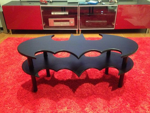 Coffee table Batman The Dark Knight Hand made by cinemastuff