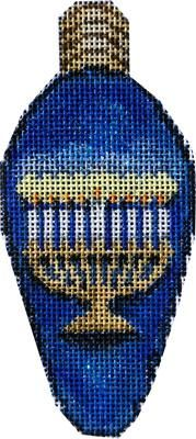 Menorah Hanukkah Light Bulb