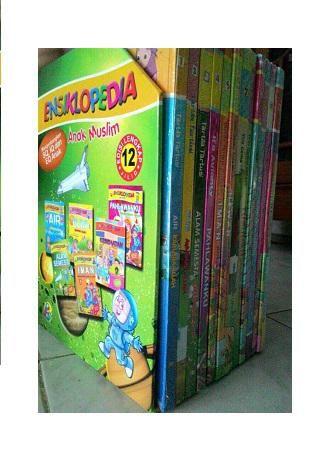 Ensiklopedia Anak Muslim, Lengkap 12 Jilid Buku, Gema Insani, Free Ongkir Jabodetabek