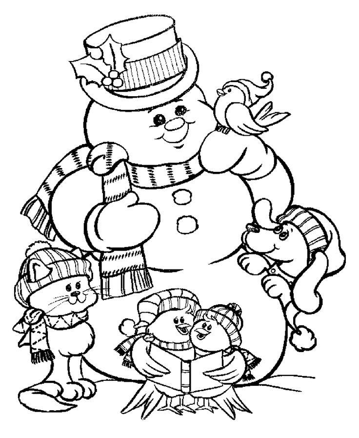 Santa Claus, Christmas trees, Snowmen ... Here our free ...
