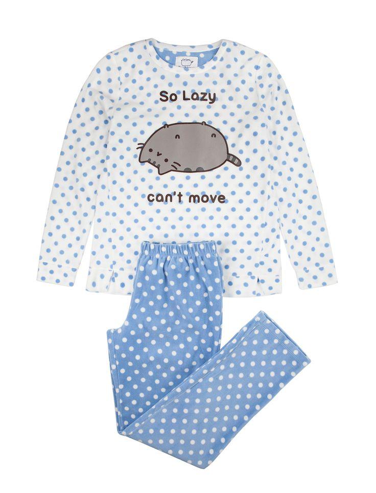 Womensecret. Products Pusheen long polar pyjama