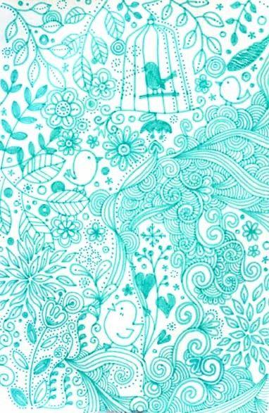 tiffany blue design wallpaper - photo #4