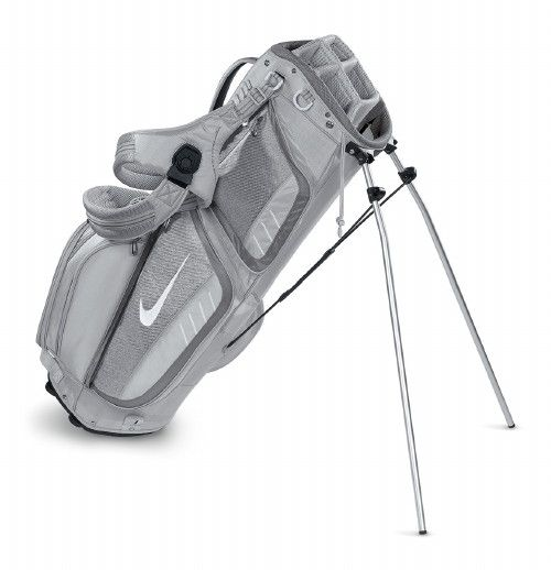 This Nike Women's Golf bag is not only stylish, it is a great color and has the durability and room for any golfer. I have the darker version of this bag and the pocket room allows me to keep my shoes, tees, balls, gloves, water, snacks, etc. in the bag at all times with plenty of room to spare. Love it!