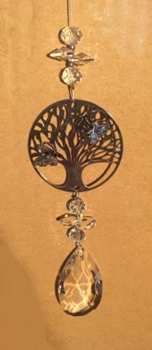 Crystal Tree of Life-Suncatcher - With 15mm-Pendant #tree #of #life #suncatcher #sun catcher