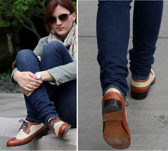 Ways to Wear Oxford Shoes | oxford shoes women