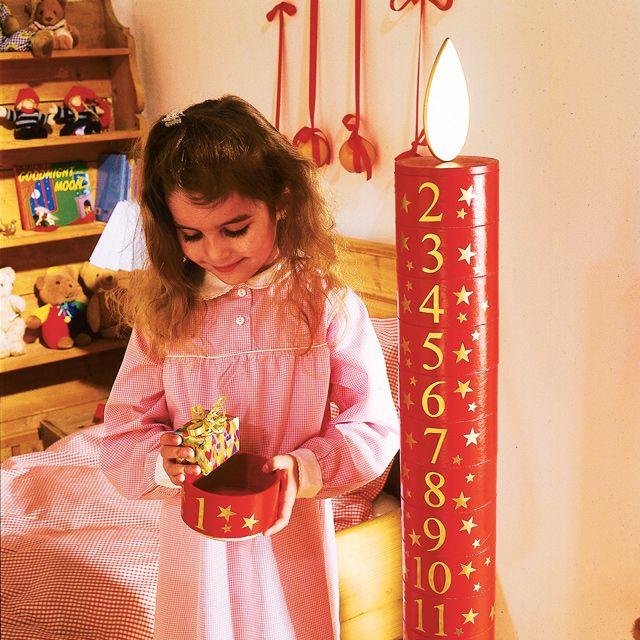 Adventskalender basteln: Jeden Tag eine nette kleine Überraschung – der Adventskalender gehört zu Weihnachten wie Tannenbaum und Krippenfiguren