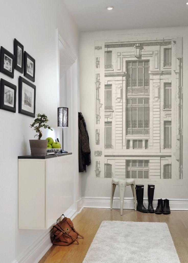 Inspiration : Papier Peint Trompe Lu0027oeil Ou Effet Matière   Marie Claire  Maison