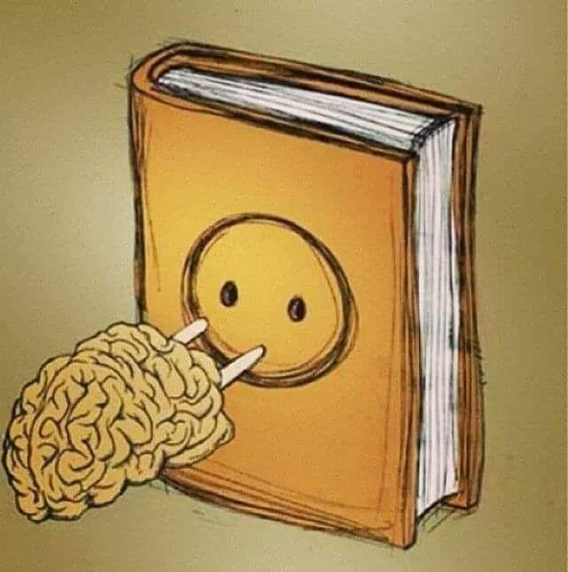 ilustrasi-ilustrasi seputar pentingnya membaca buku