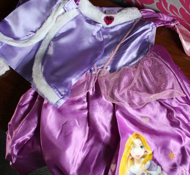 Rapunzel Winter Fancy Dress from Fun Warehouse
