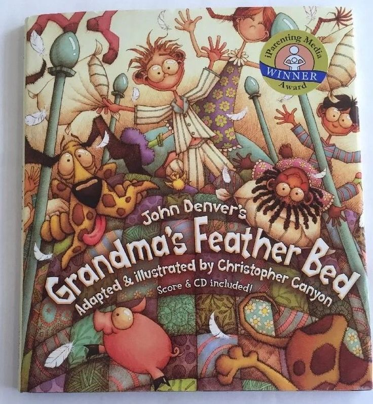 Grandmas Feather Bed and Sunshine On My Shoulders w/ Audio CD John Denver Books  #DawnPublications