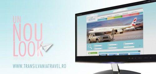 Lansarea noului site Transilvania Travel Services