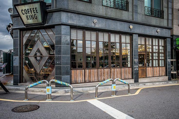 백현동 커피킹 고스트우드 적용현장 #02