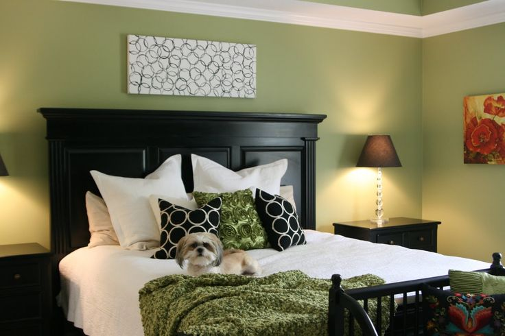 LOVE this paint color..Ryegrass. In fact loved it so much, used it for the living room and halls