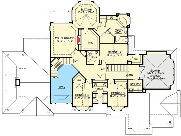Photos On Plan JD Luxury Master Suite With Sitting Room Fireplace