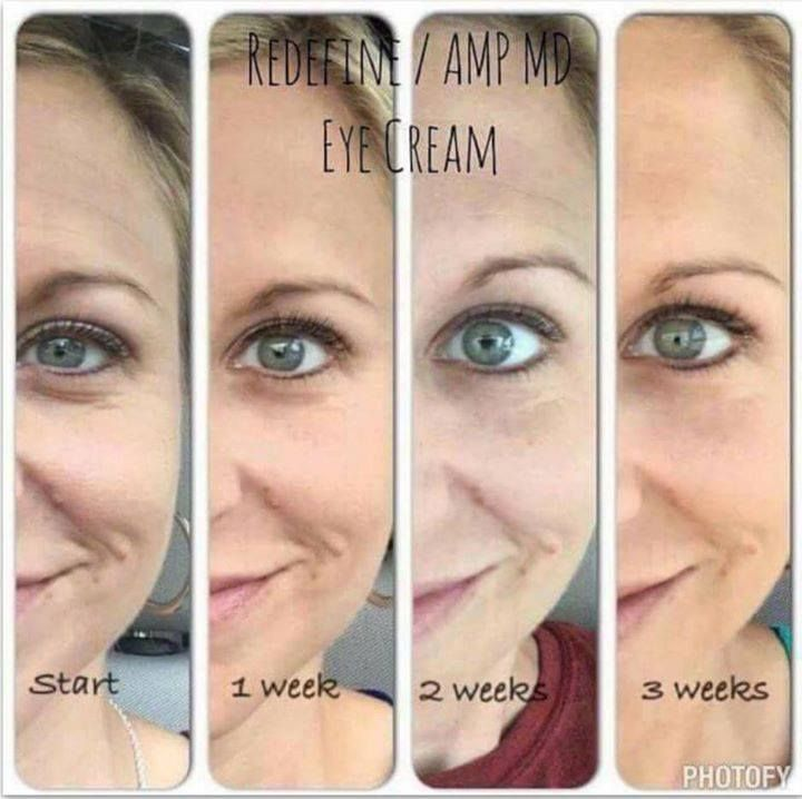 More proof of what Rodan and Fields REDEFINE EYE CREAM combined with the AMP ROLLER will do!!! Get started and share your before and after pics with me on my blog at www.urskincarerx.com place an order at http://www.tabrams1.myrandf.com