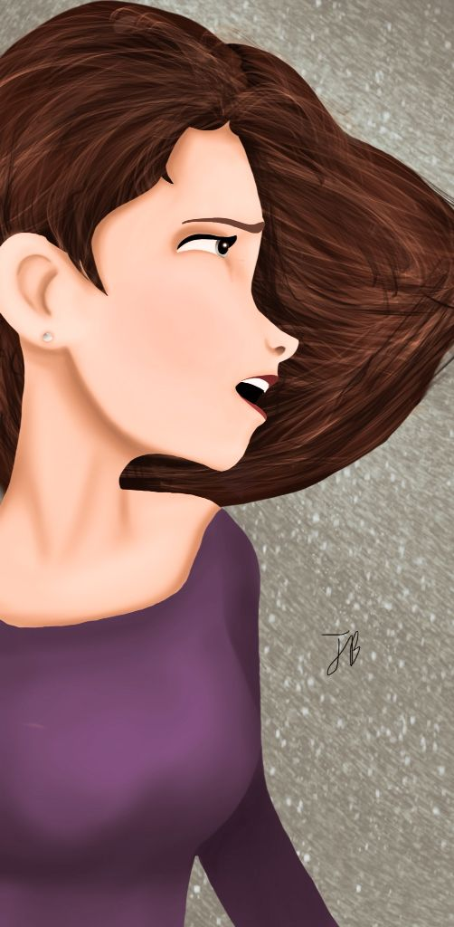 Running away. By Jolie Byrne.