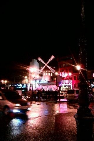 Neon lights of Pigalle, Paris
