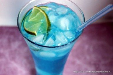 Recept Blue Lagoon Cocktail, Cocktail met Blue Curacao en vodka, Blue Curaçao Cocktails, Vodka Cocktails, Happy Hour