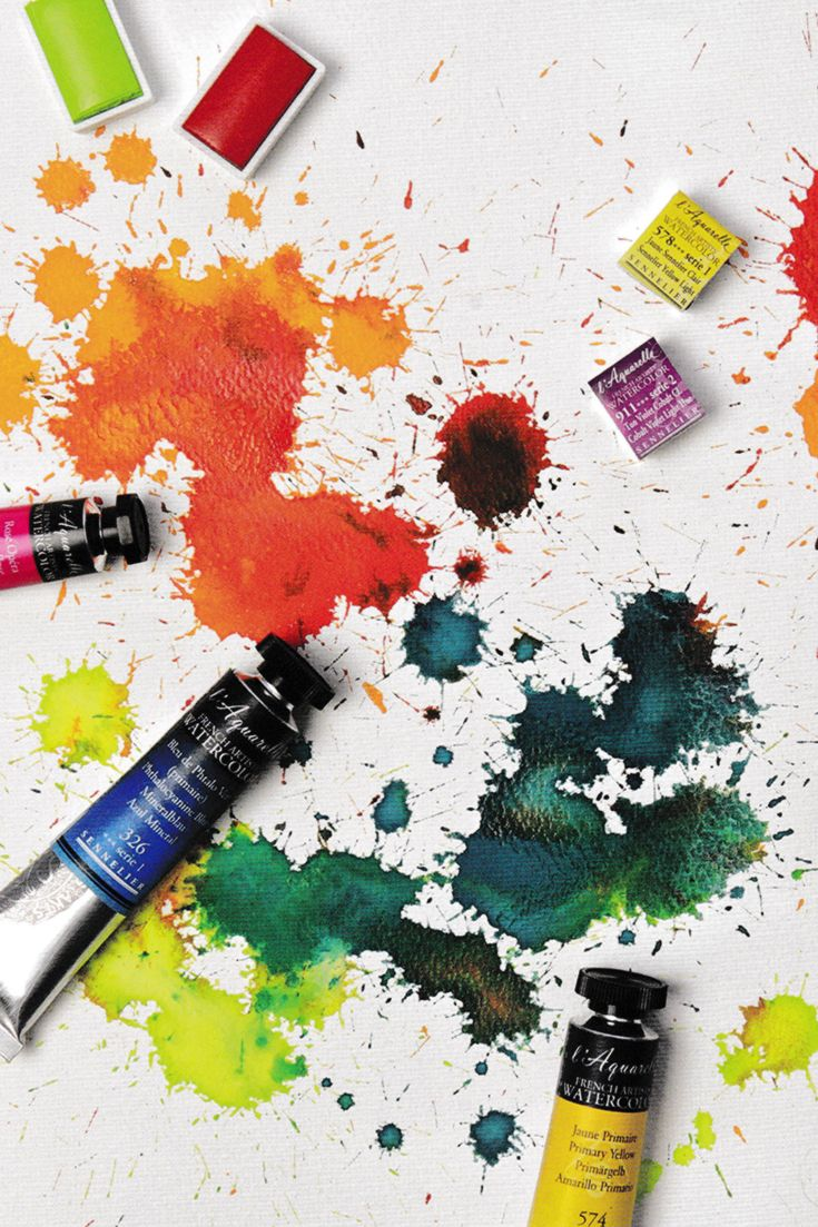 Sennelier L Aquarelle Are A Professional Quality Watercolour Paint