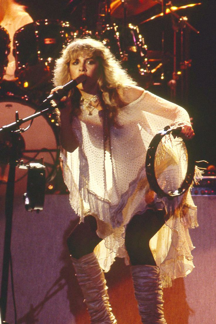 Stevie Nicks, Bella Donna Live, Wilshire Ebell Theatre, Los Angeles, CA - December 1981 © Abel Armas II