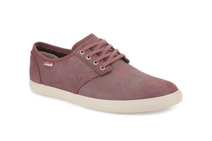 Clarks Torbay Lace - Rojo - Zapatillas de deporte para hombre | Clarks