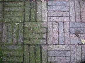 Voor het verwijderen van groene aanslag op terrastegels zijn middelen als groene zeep, soda en schoonmaakazijn zijn misschien ouderwets maar wel effectief!  Meng 5 eetlepels soda en 5 eetlepels groene zeep op in zo'n 10 liter water. Uitgieten over de tegels een uurtje laten inwerken en dan met een bezem verwijderen. Ook schoonmaakazijn doet - eventueel verdunt met water- de groene aanslag verwijderen als sneeuw voor de zon.