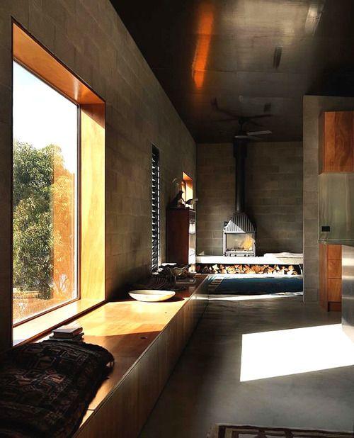 Hallway Big Hill House By Kerstin Thompson Architects
