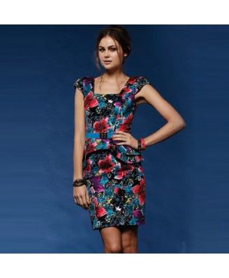Honey and Beaus dress with CAPPED SLEEVEs from Swish, $180