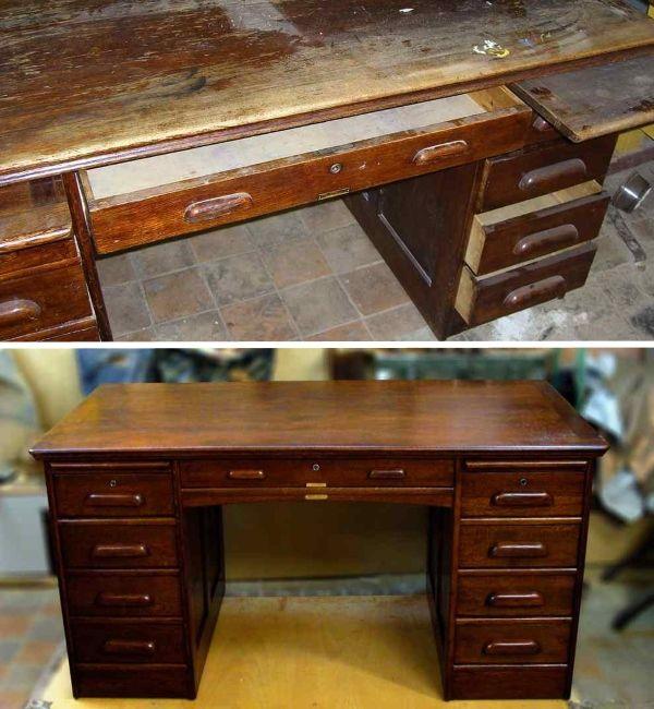 Лакирование при переделке старой мебели