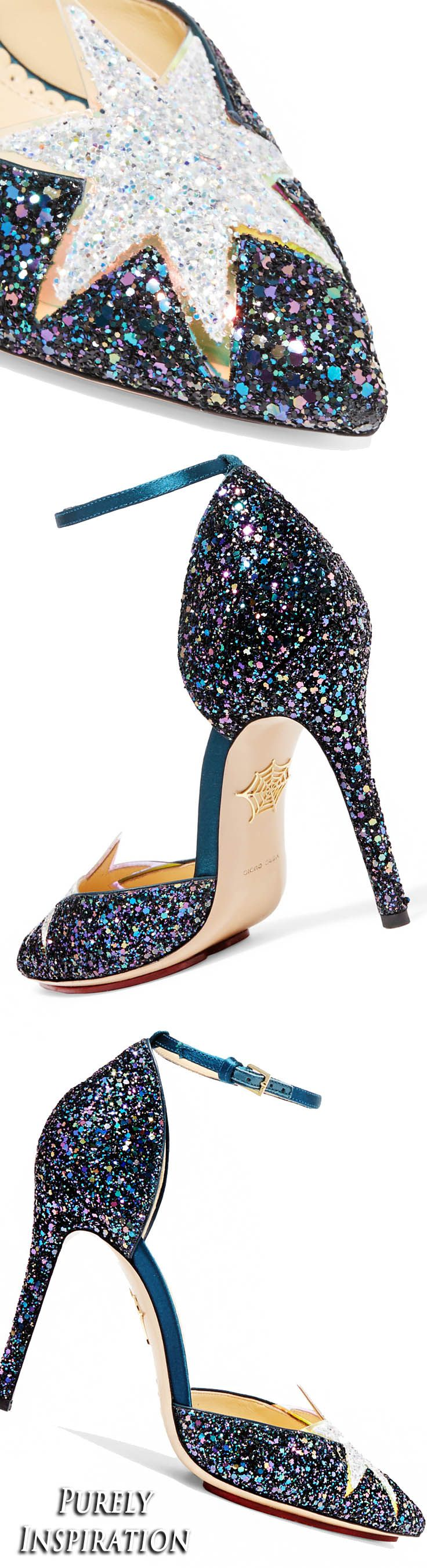 Charlotte Olympia Twilight Princess Glitter Pump | Purely Inspiration