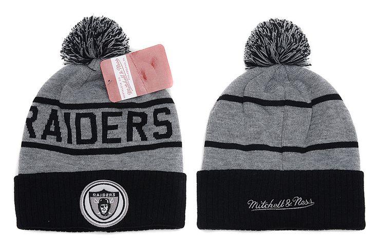 NFL Oakland Raiders Beanies (8) , wholesale  6.9 - www.hats-malls.com