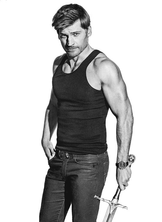 Lingering Nikolaj Coster-Waldau photographed by Ben Watts for Men's Fitness US June 2015