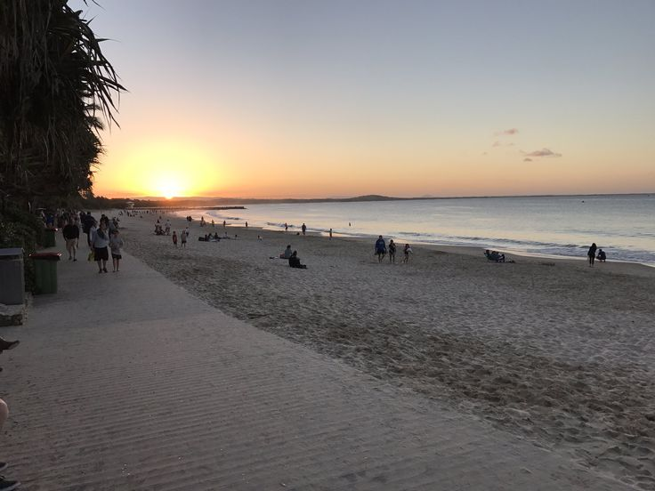 Sunset today at Noosa Heads, Queensland, Australia... from @sshackelford