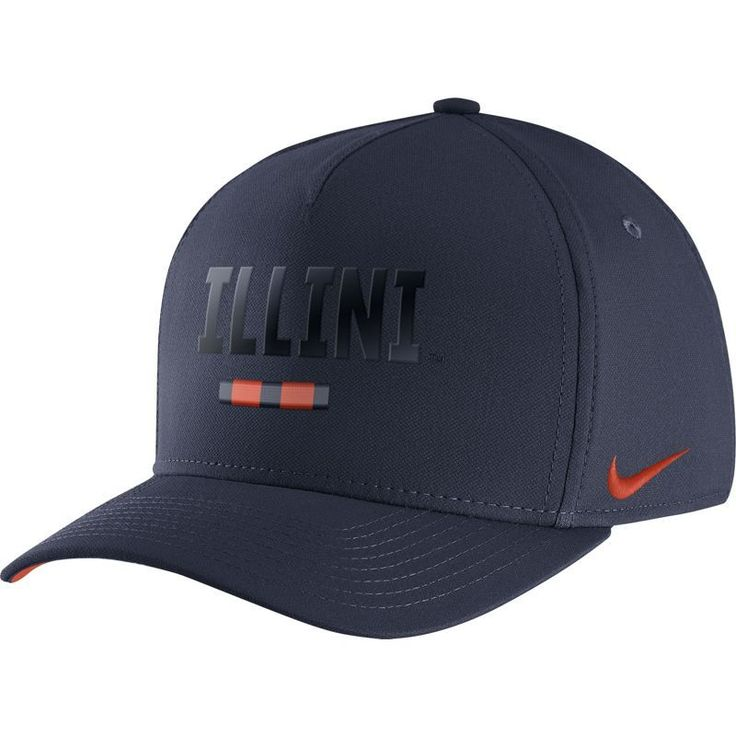 Nike Men's Illinois Fighting Illini Blue Seasonal Swoosh Flex Classic99 Hat, Size: Medium/Large, Team